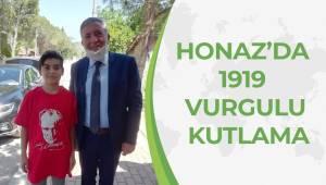 HONAZ'DA 1919 VURGULU KUTLAMA