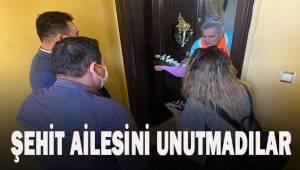 İYİ Parti Merkezefendi İlçe Teşkilatı Şehit ailesini unutmadı