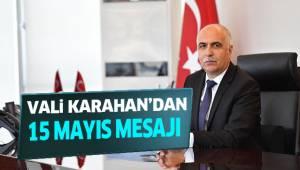 Karahan'dan 15 Mayıs Mesajı