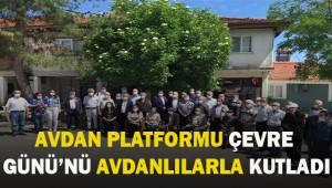 Avdan Platformu 5 Haziran Dünya Çevre Günü'nü Avdan'da kutladı.