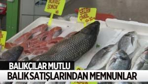 Balıkçılar Fiyatlardan Memnun