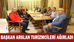 Çameli Belediye Başkanı Arslan; Turizmcilerle değerlendirme toplantısı yaptı