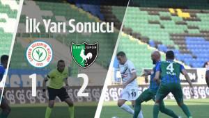 Çaykur Rizespor 1-2 Yukatel Denizlispor İlk Yarı Sonucu