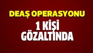 DEAŞ operasyonunda 1 kişi gözaltına alındı
