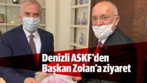Denizli ASKF'den Başkan Zolan'a ziyaret