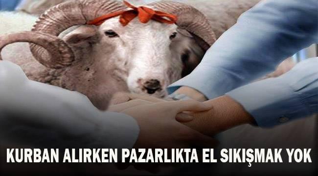 Denizli'de el sıkışarak yapılan pazarlık hayvan pazarında yasaklandı