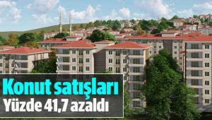 Denizli'de konut satışları yüzde 41,7 azaldı