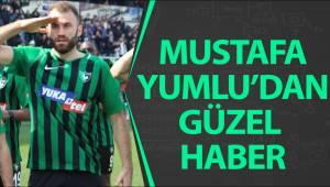 Mustafa Yumlu'dan güzel haber