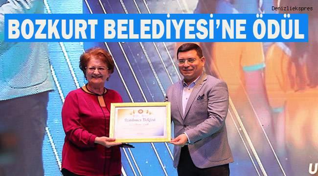 Akdeniz Belediyeler Birliği'nden Bozkurt Belediyesi'ne ödül