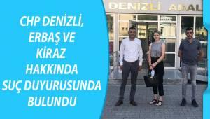 CHP, Erbaş ve Kiraz hakkında suç duyurusunda bulundu