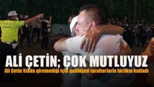 """Denizlispor Başkanı Ali Çetin: """"Mutluyuz, gerçekten çok ihtiyacımız olan bir puandı"""""""
