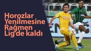 Denizlispor'u melekler korudu ve Lig'de kaldı.