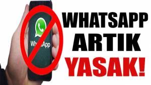 Kamuda 'WhatsApp' yasağı!