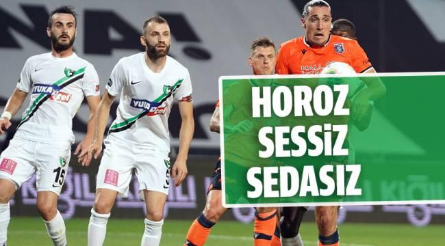 Medipol Başakşehir: 2 - Denizlispor: 0 (Maç sonucu)