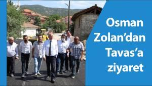 Osman Zolan'dan Tavas'a ziyaret