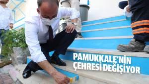 PAMUKKALE'NİN ÇEHRESİ DEĞİŞİYOR