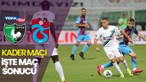 Süper Lig: Denizlispor: 2 - Trabzonspor: 1 (Maç sonucu)