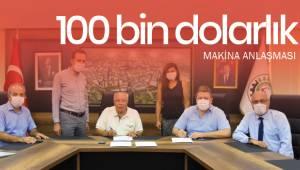 100 bin dolarlık makina anlaşması