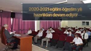 2020-2021 eğitim öğretim yılı hazırlıkları devam ediyor