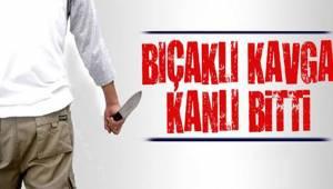 Denizli'de hastanenin bahçesinde çıkan kavgada bir kişi bıçakla yaralandı
