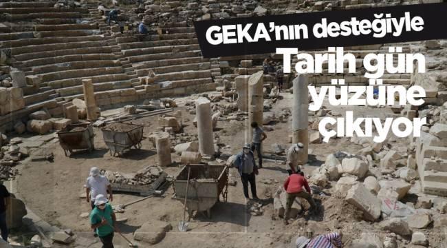 GEKA'nın desteğiyle tarih gün yüzüne çıkıyor