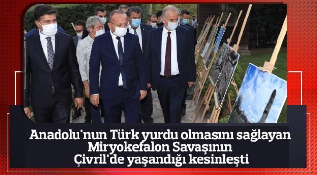 Anadolu'nun Türk yurdu olmasını sağlayan Miryokefalon Savaşının Çivril'de yaşandığı kesinleşti