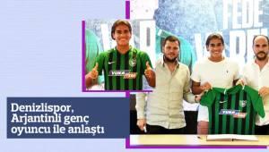 Denizlispor, Arjantinli genç oyuncu ile anlaştı