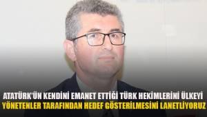 Eğitim-İş Başkanı Aydoğan; ülkeyi yönetenler tarafından TBB'nin hedef alınmasını lanetliyoruz