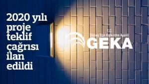GEKA'NIN, 2020 yılı proje teklif çağrısı ilan edildi