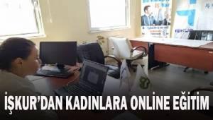 İŞKUR'dan kadınlara online eğitim