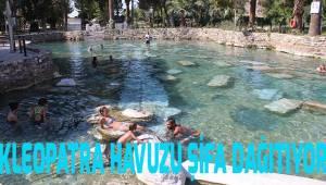 Kleopatra Antik Havuzu şifa dağıtıyor