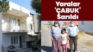 Pamukkale Belediyesi, Çabuk ailesinin yaralarını sardı