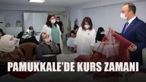 PAMUKKALE'DE KURS ZAMANI