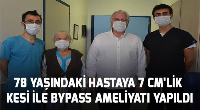 PAÜ Hastanesinde Küçük Kesi İle Baypas Ameliyatı İyileşme Süresini Kısaltıyor