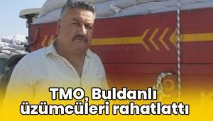 TMO, Buldanlı üzümcüleri rahatlattı