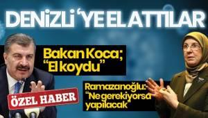 Bakan Koca Denizli'ye el koydu, Ramazanoğlu; Ne gerekiyorsa yapılacak