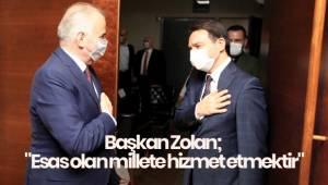Başkan Zolan;