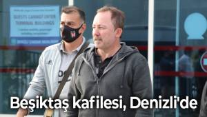Beşiktaş kafilesi, Denizli'de