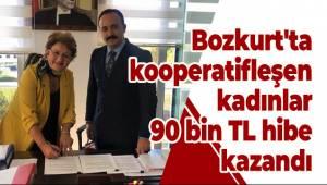 Bozkurt'ta kooperatifleşen kadınlar 90 bin TL hibe kazandı