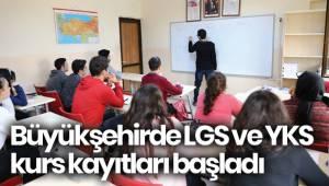 Büyükşehirde LGS ve YKS kurs kayıtları başladı