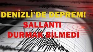 Denizli'de deprem!..