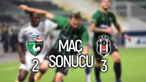Denizlispor: 2 - Beşiktaş: 3 | MAÇ SONUCU