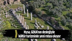 Nysa, GEKA'nın desteğiyle kültür turizminin yeni rotası oluyor