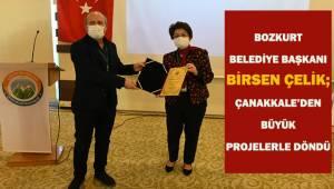 Bozkurt Belediye Başkanı Birsen Çelik; Çanakkale'den büyük projelerle döndü