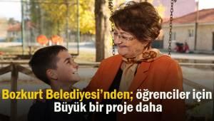 Bozkurt Belediyesi öğrenciler için büyük bir projeye daha imza attı
