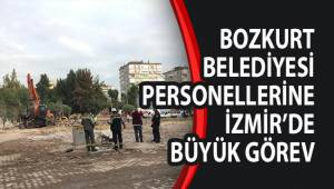 BOZKURT BELEDİYESİ PERSONELLERİNE İZMİR'DE BÜYÜK GÖREV