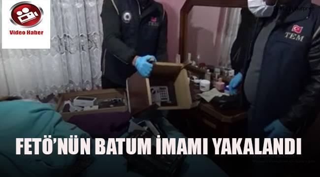 FETÖ'nün Batum imamı Denizli'de yakalandı