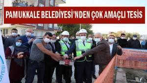 Pamukkale Belediyesinden çok amaçlı sosyal tesis