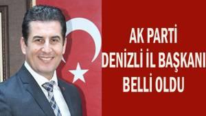 AK Parti Denizli İl Başkanı belli oldu
