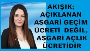 İYİ Parti Denizli İl Başkanı Akışık'tan asgari ücret açıklaması